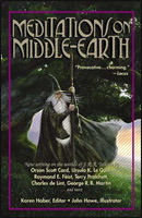 Copertina di Meditations on Middle-Earth